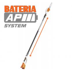 HTA 85 Potente podadora telescópica a bateria
