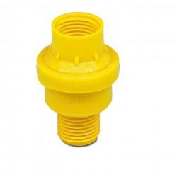 Válvula de pressão 1 bar (Amarela)